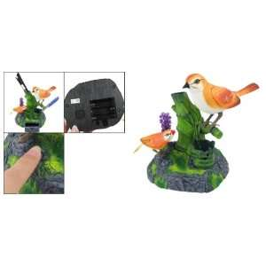 Plastic Voice Control Sound Activated Chirping Bird Toy Toys & Games