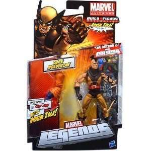 Marvel Legends 2012 Series 2 Action Figure Dark Wolverine