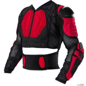 Fox Racing Launch Suit   Medium/Red/Black Automotive