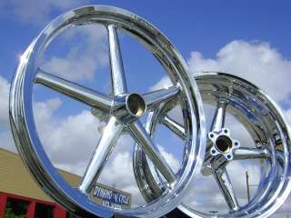 HARLEY DAVIDSON ROCKER C SOFTAIL CHROME WHEELS RIMS