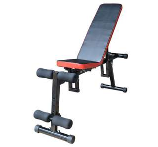 use Multi Position Dumbbell Chair Utility Fitness Bench Sit Up