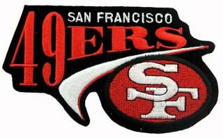 our store contact us nfl san francisco football embroidered patch