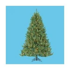 Pre lit Windom Artificial Christmas Pine Tree   Clear Lights