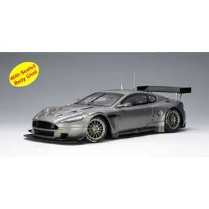 Aston Martin DBR9 Diecast Model Plain Grey 1/18 Autoart