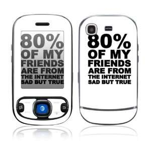 Sad But True Decorative Skin Cover Decal Sticker for Samsung Strive