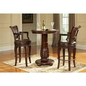 Steve Silver Antoinette 3 pc Pub Table Set
