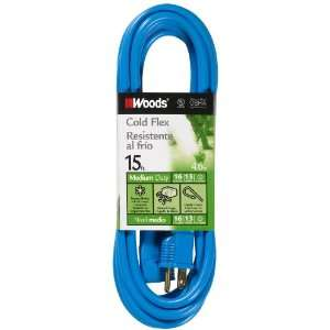 Woods 655 16/3 Outdoor Cold Flexible SJTW Extension Cord