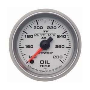Auto Meter 4956 Ultra Lite II Full Sweep Electric Oil Temperature