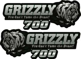 YAMAHA Grizzly 700 Graphic Kit. Tank Decals, Grpahic Kit.  HPGK ATV