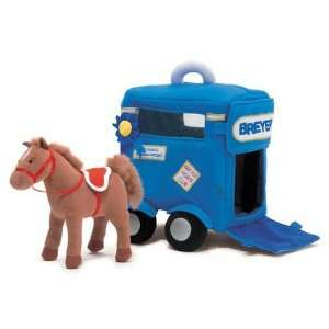 Breyer Horses Horse Trailer Soft Play Set  R  Sports
