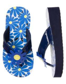 Gymboree Flower Showers Flip Flop Sandals Shoes 2 3 NT