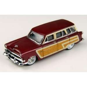 HO 1953 Ford Country Squire Wagon, Carnival Red Toys