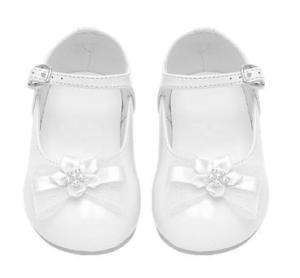 Toddlers BABY GIRLS DRESS SHOES Pageant Wedding WHITE