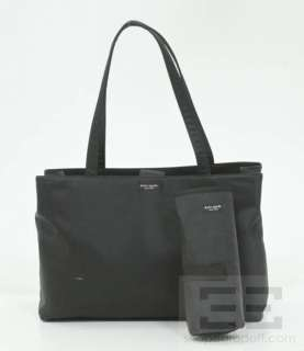 Kate Spade Black Nylon Diaper Tote Bag