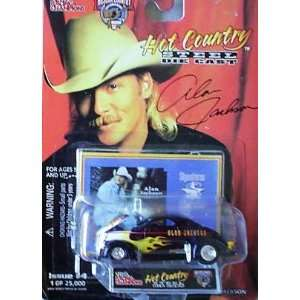 Racing Champions Hot Country Alan Jackson Issue #4 Toys & Games