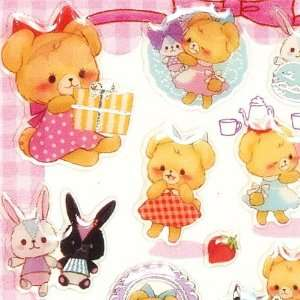 cute Epoxy stickers with bear rabbit dress Toys & Games