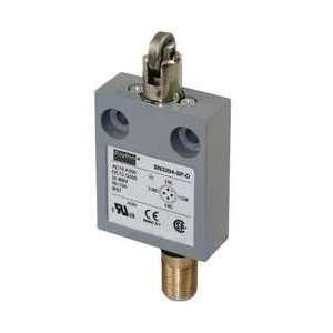 Dayton 12T948 Mini Limit Switch, SPDT, Vert, Cross Roller