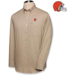 Cutter & Buck Cleveland Browns Mens Nailshead Long Sleeve