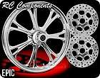 ECLIPSE RC COMPONENTS EPIC WHEELS, TIRES, ROTORS HARLEY FLH FLHR FLHX