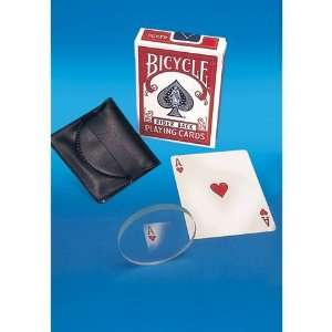 Empire Magic Ghost Disc Trick   Bicycle Deck Included