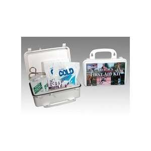 Medium Plastic First Aid Kit (case w/supplies)
