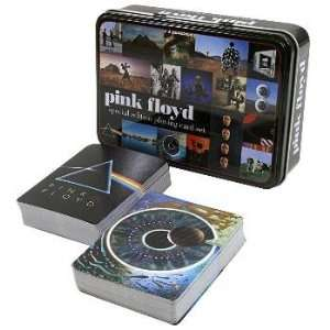 Pink Floyd   Album Covers Playing Card Tin Set Toys