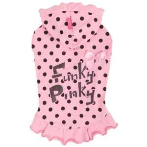 Pinkaholic New York Funky Pinky Hooded Shirt for Dogs