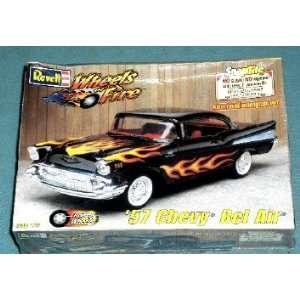 Revell SnapTite Wheels of Fire 57 Chevy Bel Air Toys & Games