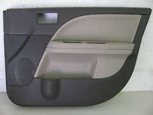 08 09 Ford Taurus X DOOR PANEL skin cover trim shell