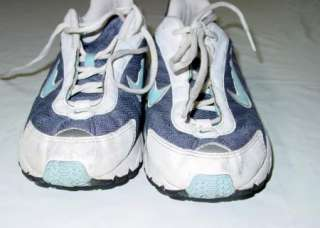 Womens NIKE blue SNEAKERS Running SHOES brs 1000 ~ 7.5