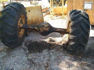 Allis Chalmers 840 wheel loader front end
