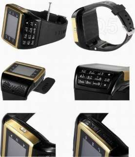 Wrist Watch phones Quad Band Single SIM mp4 inch Touch Screen unlocked
