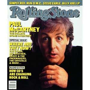 Paul McCartney, 1986 Rolling Stone Cover Poster by Harry