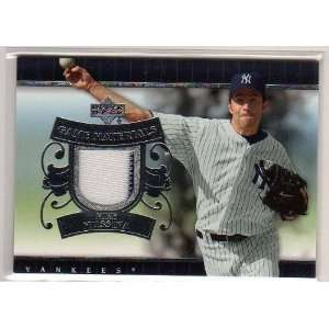 Upper Deck Game Used Jersey (Stripe) Mike Mussina