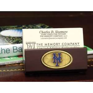 MLB New York Mets Baseball Business Card Holder