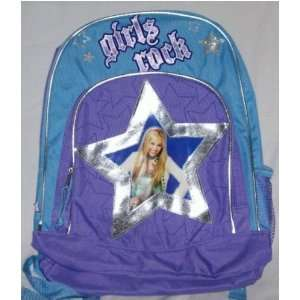 Hannah Montana Girls Rock Backpack Toys & Games
