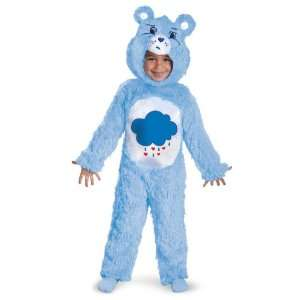 Lets Party By Disguise Care Bears Grumpy Bear Deluxe Infant / Toddler