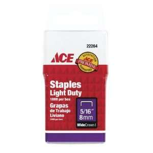 Stanley 22264ACE Ace Light Duty Staple 5/16   (Pack of