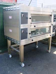 REVENT 649 TWO DECK ELECTRIC PIZZA BAKERY DECK OVEN