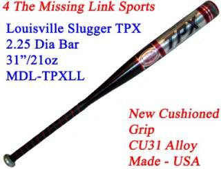 USED Louisville Slugger TPX LL Official Baseball Bat 31/22 CU31 Alloy
