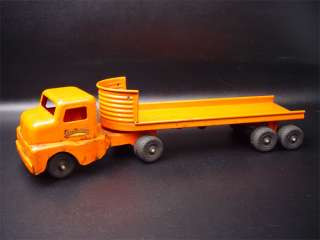 Structo Toys Pressed Steel Log Trailer Truck No. 940