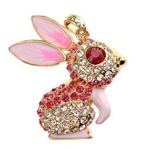 2GB U Disk Rabbit Shape USB Flash Memory Drive with