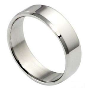 JRS01 Mens Fashion Silver Stainless Steel Ring Size 9