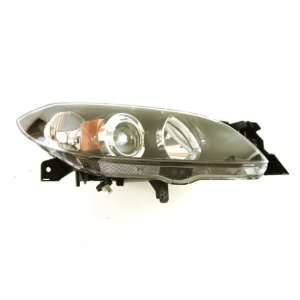 OE Replacement Mazda Mazda3 Passenger Side Headlight Lens
