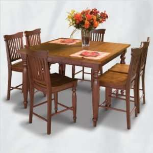 / 617 Cafe Maspero 6 Piece Counter Height Table Set