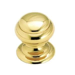 Amerock Solid Brass 25mm Cabinet Knob Polished Brass