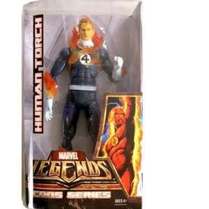 Legends Icons Series 3 Johnny Storm Action Figure Toys & Games