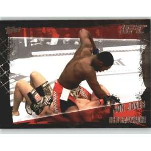 2010 Topps UFC Trading Card # 49 Jon Jones (Ultimate Fighting