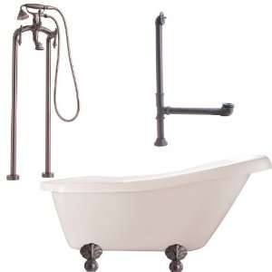 Giagni LH2 ORB Hawthorne Floor Mounted Faucet Package