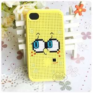 KEC DIY iPhone 4 Case Cross Stitch Case, SpongeBob